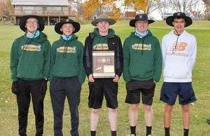 Boys Win Region 1B Cross Country Meet!