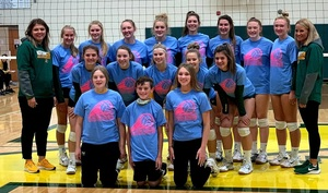 Volleyball Team Wins Wildcat Tourney