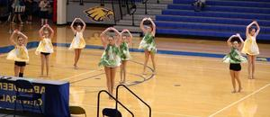 Dance team performs at Aberdeen Central